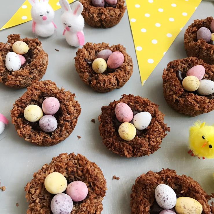 coconut easter nests3